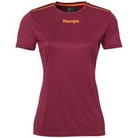 textil Dame T-shirts m. korte ærmer Kempa Maillot femme  Poly rouge
