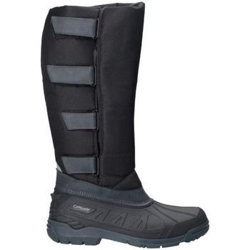 Sko Dame Chikke støvler Cotswold  Black