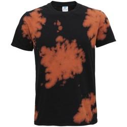 textil T-shirts m. korte ærmer Colortone TD09M Black
