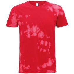 textil T-shirts m. korte ærmer Colortone TD09M Red