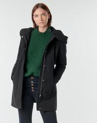 textil Dame Frakker Vero Moda VMDAFNEDORA Sort