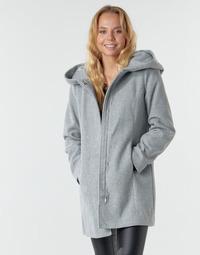 textil Dame Frakker Vero Moda VMDAFNEDORA Grå