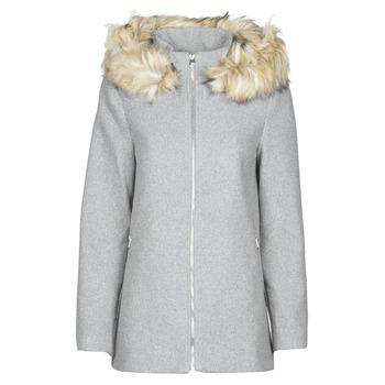 textil Dame Frakker Vero Moda VMCOLLARYORK Grå