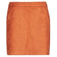 textil Dame Nederdele Vero Moda VMDONNADINA Orange