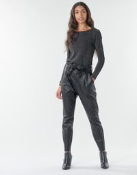 textil Dame Chinos / Gulerodsbukser Vero Moda VMEVA Sort