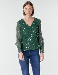 textil Dame Toppe / Bluser Vero Moda VMFEANA Grøn