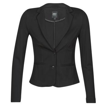 textil Dame Jakker / Blazere Only ONLPOPTRASH BLAZER Sort