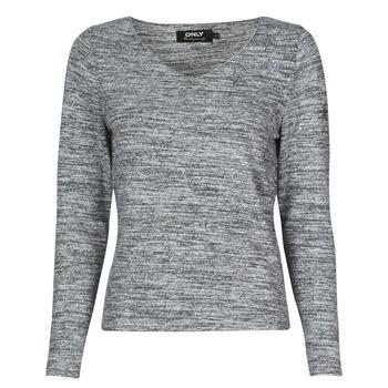 textil Dame Pullovere Only ONLCLARI Grå