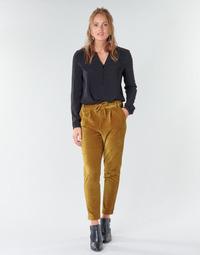 textil Dame Chinos / Gulerodsbukser Only ONLPOPTRASH Kamel