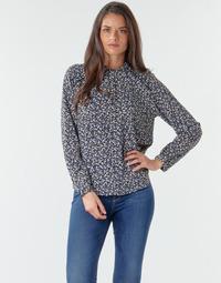 textil Dame Toppe / Bluser Only ONLNEW MALLORY Marineblå