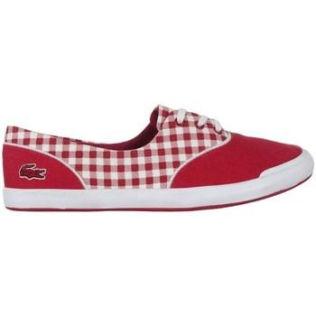 Sko Dame Lave sneakers Lacoste Lancelle Lace 3 Eye 216 1 Spw Hvid,Rød