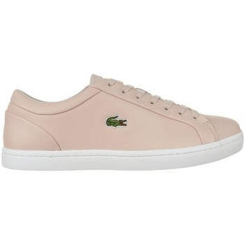 Sko Dame Lave sneakers Lacoste Straightset Lace 317 3 Caw Beige