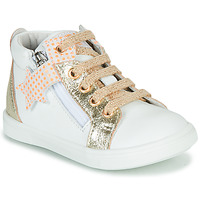 Sko Pige Høje sneakers GBB VALA Hvid / Guld