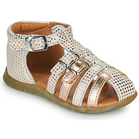 Sko Pige Sandaler GBB PERLE Hvid / Pink / Guld