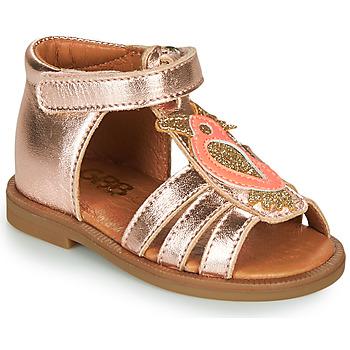 Sko Pige Sandaler GBB FRANIA Pink / Guld
