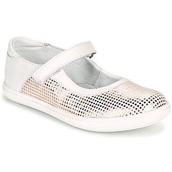 Sko Pige Ballerinaer GBB PLACIDA Hvid