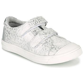 Sko Pige Lave sneakers GBB NOELLA Hvid / Sølv