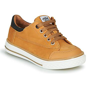 Sko Dreng Lave sneakers GBB ETIO Cognac