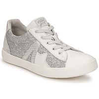 Sko Pige Lave sneakers GBB DANNI Hvid / Sølv