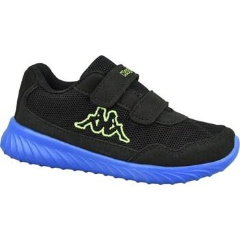 Sko Børn Lave sneakers Kappa Cracker II BC K Sort, Blå