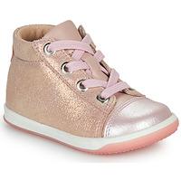 Sko Pige Høje sneakers Little Mary VITAMINE Pink