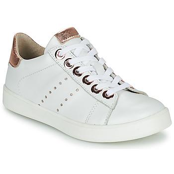 Sko Pige Lave sneakers Little Mary LAURENE Hvid