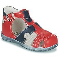 Sko Dreng Sandaler Little Mary VERCORS Rød