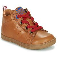 Sko Dreng Høje sneakers Little Mary LEON Brun