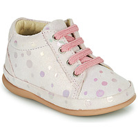Sko Pige Høje sneakers Little Mary GAMBARDE Pink
