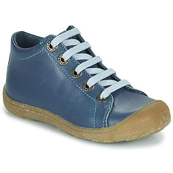 Sko Børn Høje sneakers Little Mary GOOD Blå
