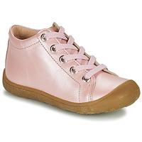 Sko Børn Høje sneakers Little Mary GOOD Pink