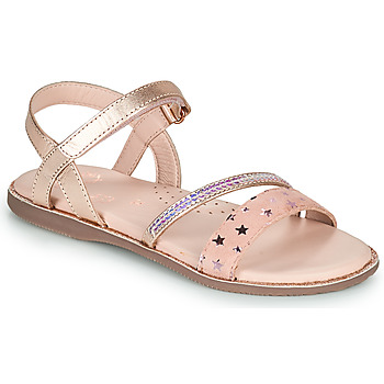 Sko Pige Sandaler Little Mary DOLERON Pink