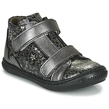 Sko Pige Høje sneakers Little Mary JACKLYN Sølv