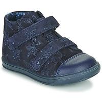 Sko Pige Høje sneakers Little Mary ADELINE Marineblå