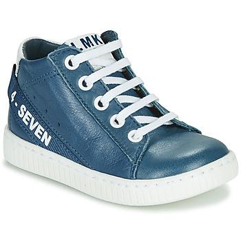 Sko Dreng Høje sneakers Little Mary LUCKY Blå