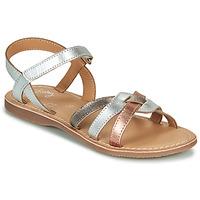 Sko Pige Sandaler Little Mary LIGHT Sølv / Bronze / Pink / Guld