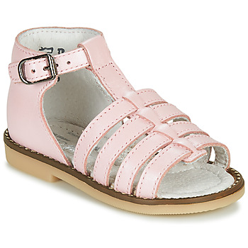 Sko Pige Sandaler Little Mary HOLIDAY Pink
