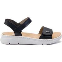 Sko Dame Sandaler Rieker Pazifik Pazifik Blue Sandals Blå