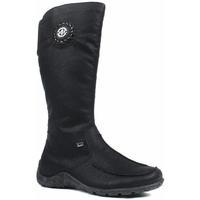 Sko Dame Chikke støvler Rieker Greece Luxor Boots Sort
