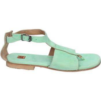 Sko Dame Sandaler Moma sandali camoscio Verde