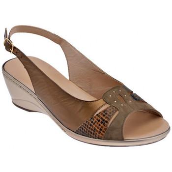Sko Dame Sandaler Confort  Brun
