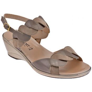 Sko Dame Sandaler Confort  Beige