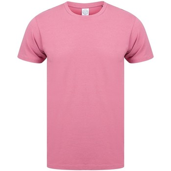 textil Herre T-shirts m. korte ærmer Skinni Fit SF121 Dusky Pink
