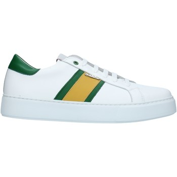 Sko Herre Lave sneakers Exton 861 White green and yellow