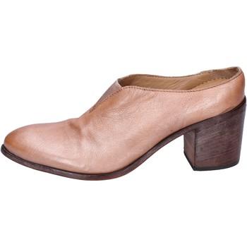 Sko Dame Højhælede sko Moma stivaletti pelle Rosa