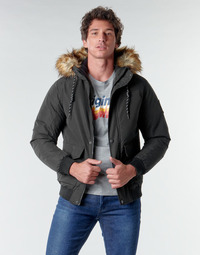 textil Herre Jakker Jack & Jones JJSKY Sort