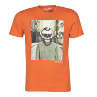 textil Herre T-shirts m. korte ærmer Jack & Jones JORSKULLING Orange