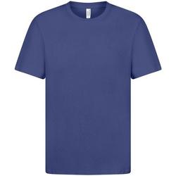 textil Herre T-shirts m. korte ærmer Casual Classics  Royal