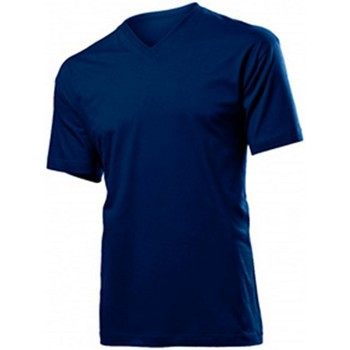 textil Herre T-shirts m. korte ærmer Stedman  Blue Midnight
