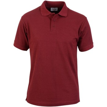 textil Herre Polo-t-shirts m. korte ærmer Absolute Apparel  Burgundy